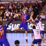 F.C. Barcelona vince la Copa Asobal 30 - 25 contro il BM. Granollers