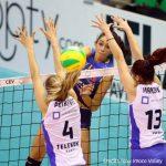 L'Imoco Volley batte 3 - 0 il Telekom Baku