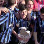 Atalanta-Partizan, la premiazione dopo la finale