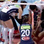 L'infortunio di Thaisa Menezes