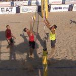I punti decisivi della finale maschile di beach volley