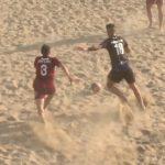 I momenti salienti del derby di beach soccer Pisa-Livorno
