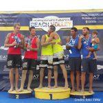 Campionato italiano beach volley, la festa sul podio di Cervia