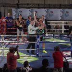 Fabio Turchi riceve la cintura di campione Internazionale Silver Wbc
