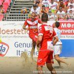 Serie A beach soccer, Brescia batte Lazio con un lampo di Bruno