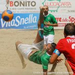 Serie A beach soccer, un siluro di Del Duca stende il Lamezia