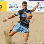 Serie A beach soccer, la Lazio scherza con la Vastese