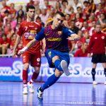 Il Barcellona fracassa il Gyor e va in testa al girone di UEFA Futsal Cup