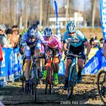 Folcarelli, Cominelli e Capponi in lotta per la maglia rosa del ciclocross