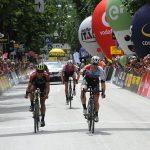Giro d'Italia U23: Bennet in volata a Pergine Valsugana. Osorio torna in rosa