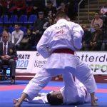Karate, ecco gli highlights del pomeriggio di finali a Rotterdam