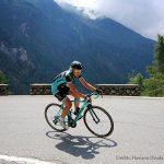 Le fasi cruciali dell'ottava tappa del Giro Rosa