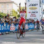 Ciclismo, Ballerini scatta e conquista il Memorial Pantani