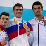 Olimpiadi giovanili, la premiazione dei 100 dorso