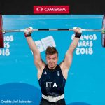 Olimpiadi giovanili, sollevamento pesi: Ficco re dei -85kg