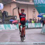 Giro dell'Emilia: sotto la pioggia trionfa De Marchi