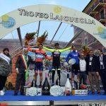 Ciclismo Cup, Velasco festeggia la vittoria del Trofeo Laigueglia