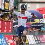 Giro d'Italia U23: Wright primo a Levico Terme