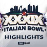 I momenti salienti del 39° Italian Bowl