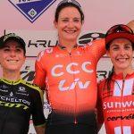 Ciclismo, Giro Rosa: il meglio della tappa di Viù