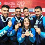 Karate, Premier League: tre podi per l'Italia