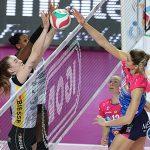 Volley femminile, Serie A1: Brescia sorprende Novara