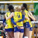 Volley femminile, Serie A1: troppa Conegliano per Bergamo