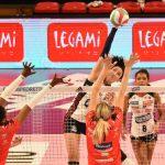 Volley femminile, Serie A1: Bergamo, rimonta Perugia