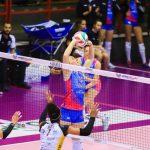 Volley femminile, Serie A1, Brescia solo a metà. Trionfa Monza