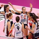 Volley, Serie A1: Bergamo travolge Filottrano