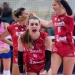 Volley femminile, Serie A1: Busto seconda forza, Chieri ko