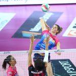 Volley, Serie A1: Novara lotta e vince il derby con Cuneo