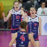 Volley femminile, Serie A1: corre Scandicci, stop a Bergamo
