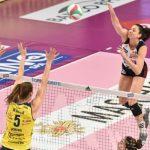 Volley femminile, Serie A1: Imoco, ok a Bergamo senza Egonu