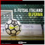 Calcio a 5, la Serie A sospesa fino al 15 marzo per il coronavirus